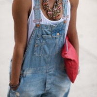 Overalls are back in style!