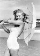 Marilyn bathing suit