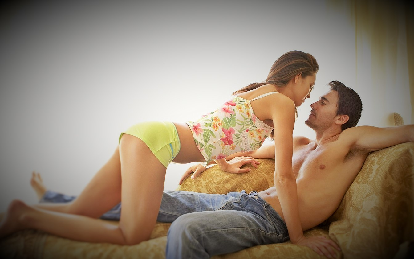 Couple in love sex
