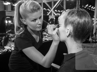 Janine Holmes Makeup Artist-in action 2