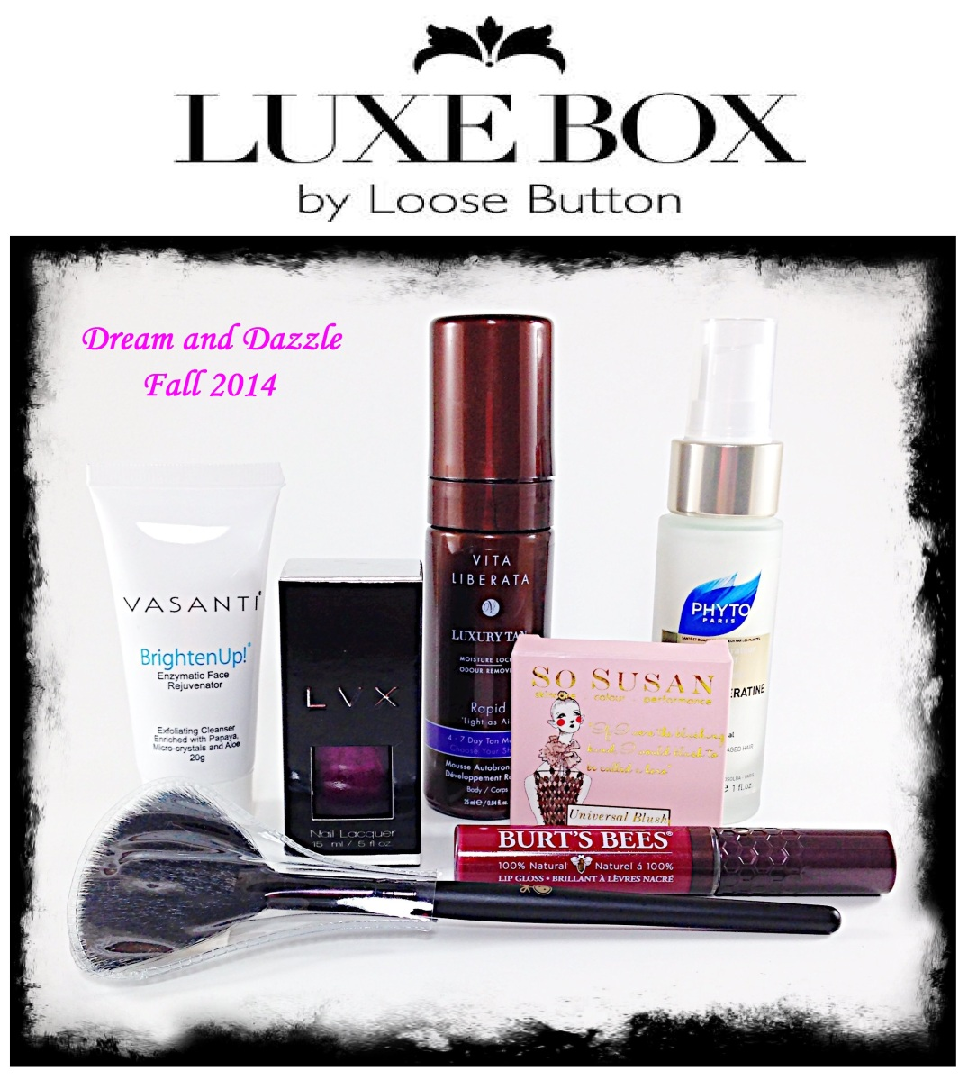 Luxe Box Review And Giveaway Dream And Dazzle Fall 2014