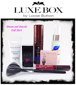 Dream and Dazzle Fall 2014 Luxe Box