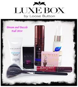 Dream and Dazzle Fall 2014 Luxe Box