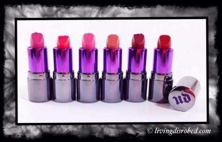 Urban Decay Full Frontal lipstick Stash Set