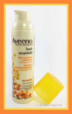 Aveeno Fresh Essentials moisturizer
