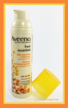 Aveeno Fresh Essentials moisturizer