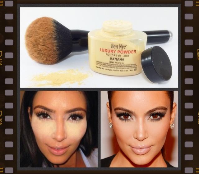 Ben Nye Banana Powder Kim Kardashian