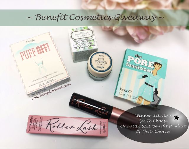 Benefit Cosmetic Giveaway