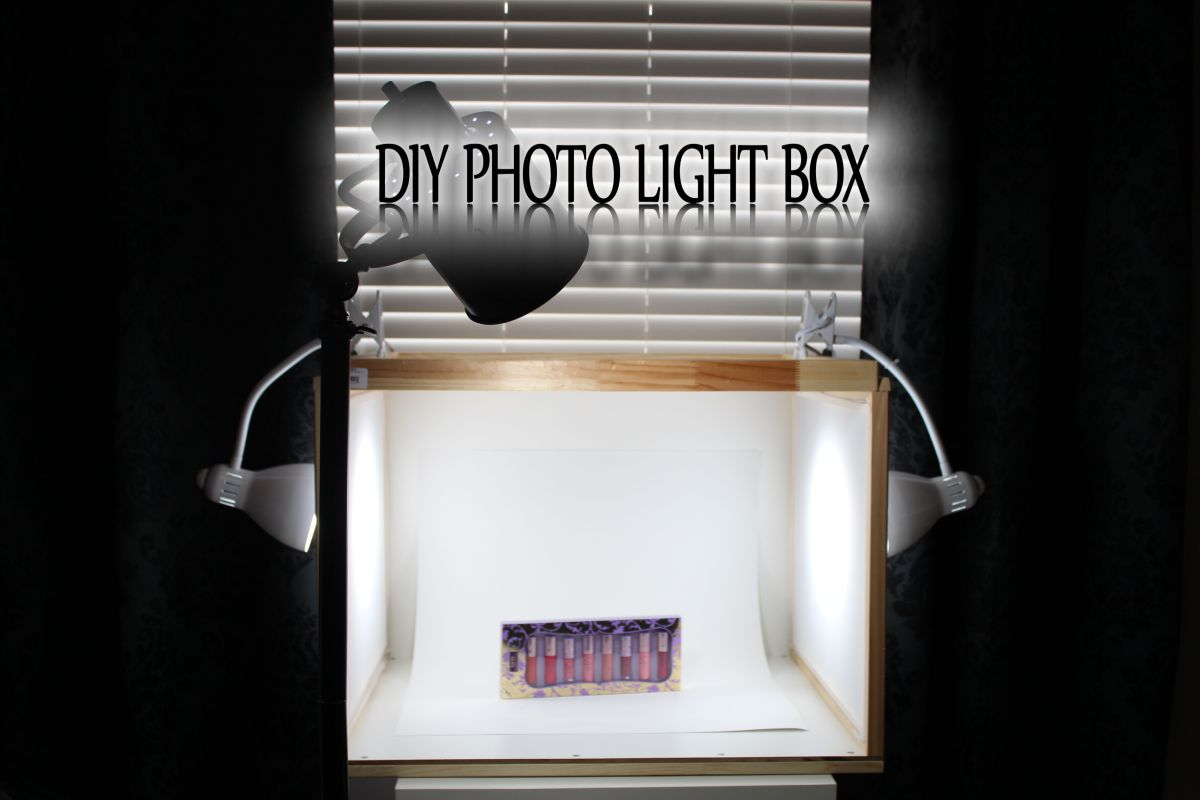 diy photo light box living disrobed. Black Bedroom Furniture Sets. Home Design Ideas