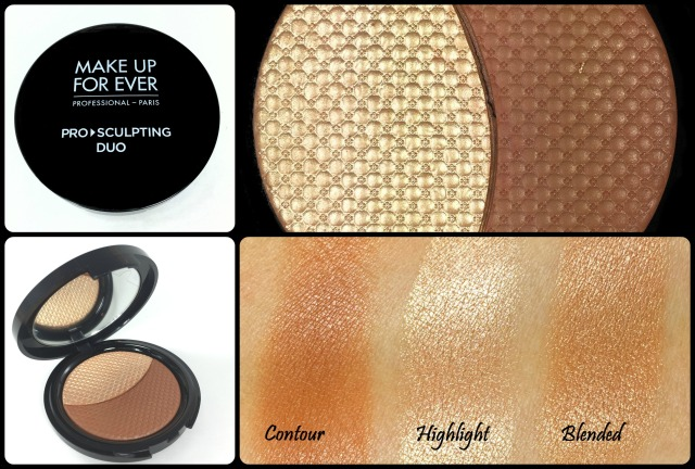 Makeup Forever Pro Sculpting Duo Swatch and Review
