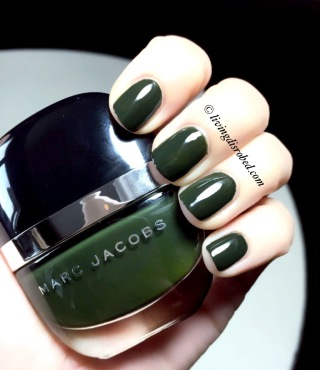 Marc Jacobs Green Nail Polish1