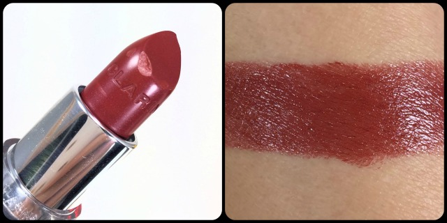 Clarins Jolie Rouge Lipstick Swatch Review