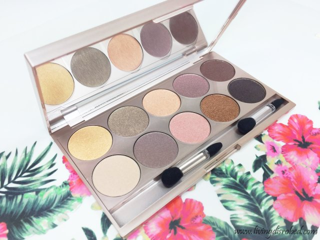 Lise Watier Palette Rivages Eyeshadows