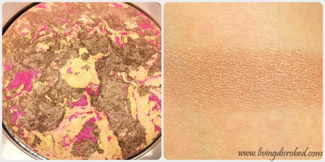 Lise Watier Rivages Bronzing Powder Swatch Review