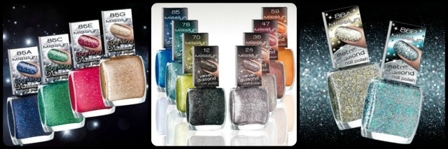 Misslyn Diamond Effects Nail Polish