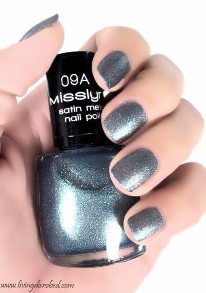Misslyn Nailpolish 09A Satin Metal interpretator