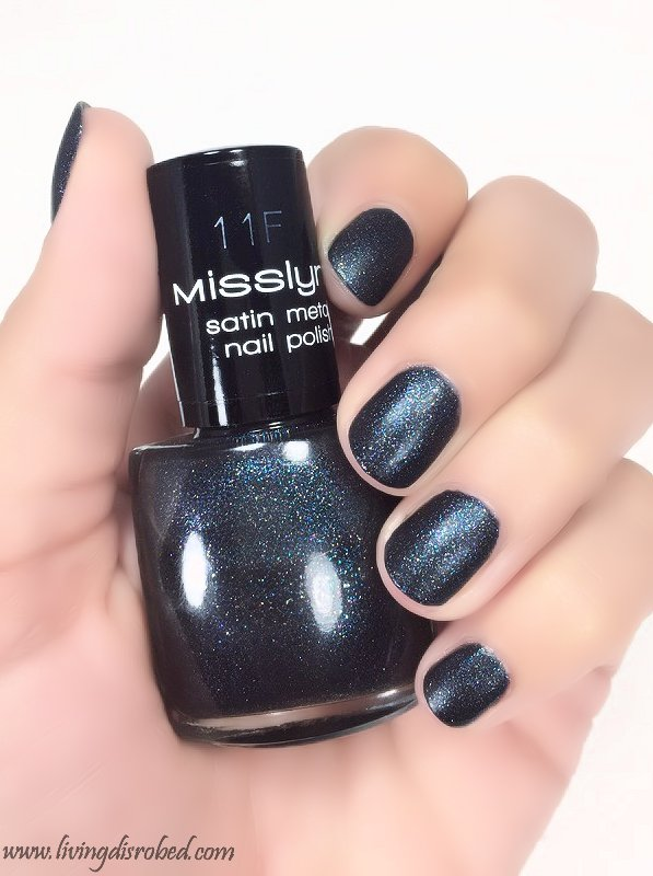Misslyn Nailpolish 11F Satin Metal Edgy