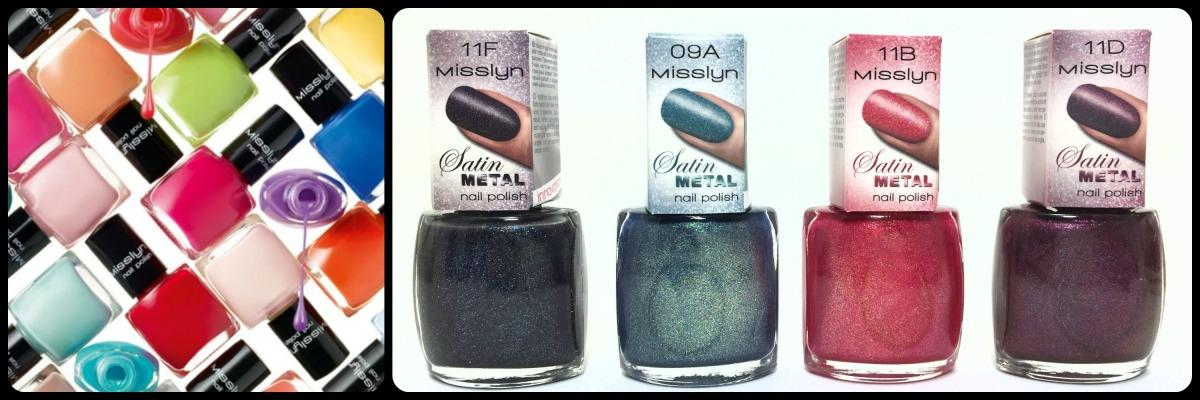 Misslyn Satin Metal Nail Polish