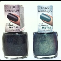 Misslyn Satin Metal Nail Polish Review