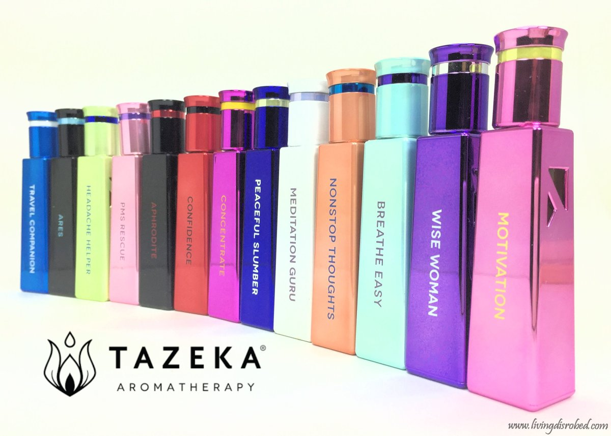 Boost Your Mental Performance with Rollerball Aromatherapy by Tazeka ~ #GIVEAWAY!