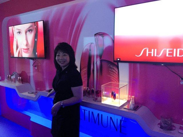 Elaine Shigeishi Shiseido VP