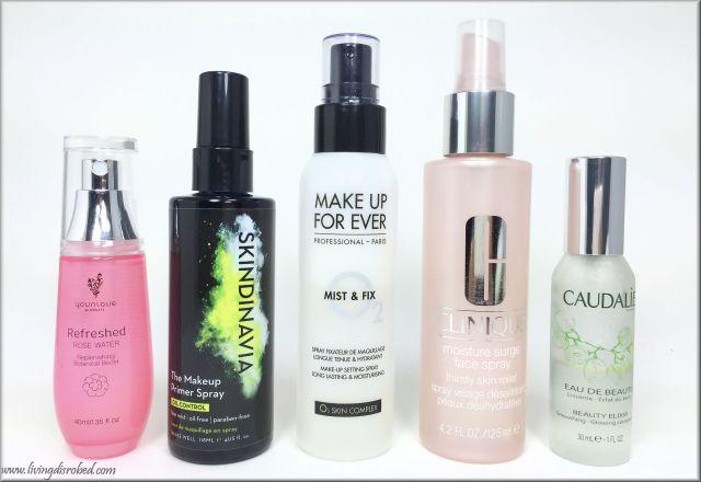 Facial Sprays Summer Moisturizer