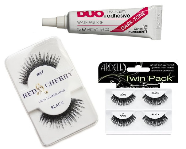 False Eyelashes Black Lash Glue