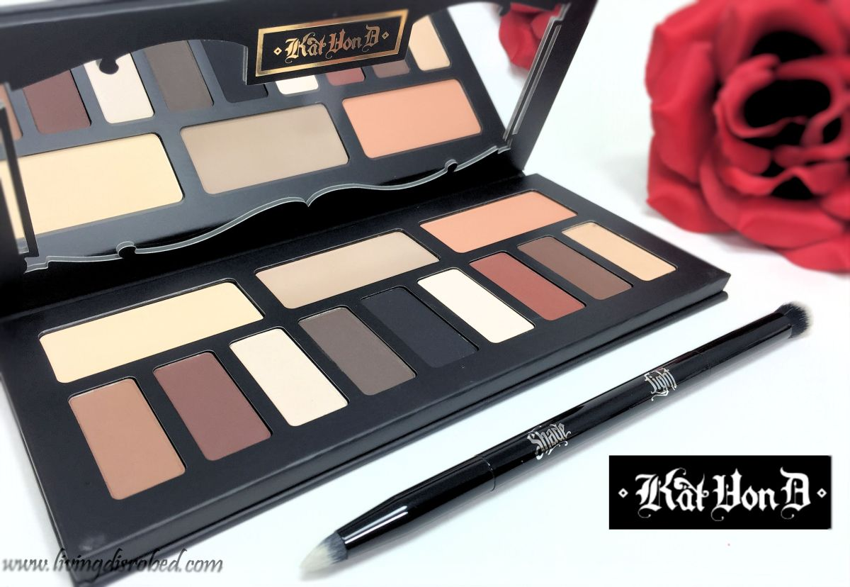 Kat Von D Shade And Light Eye Contour Palette Brush Review