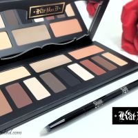 Kat Von D Shade and Light Eye Contour Palette and Brush Review and Swatches