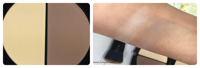6e3286e74b908 Marc Jacobs Instamarc Light Filtering Contour Powder Swatch Review ...