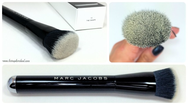 Marc Jacobs The Shape Contour Blush Brush Review