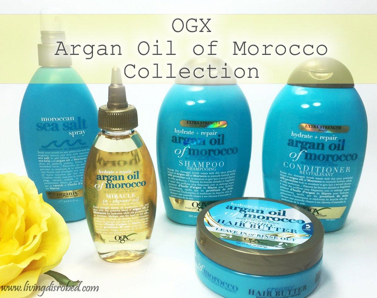 ogx argan oil of morocco collection review living disrobed. Black Bedroom Furniture Sets. Home Design Ideas