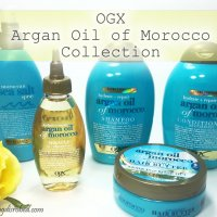 OGX Argan Oil of Morocco Collection Review