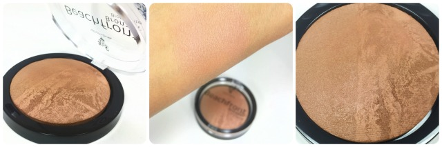 Younique Beachfront Bronzer Review Swatch