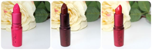 MAC Giambattista Valli Lipsticks Reviews