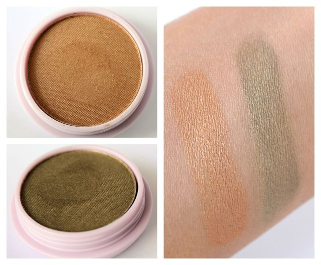 Sweet Leilani Seaside Mineral Jewels Eye Shadow Swatches