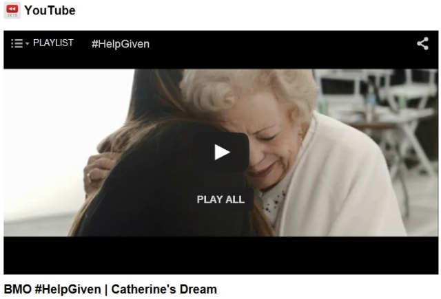 BMO Help Given Catherines Dream