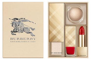 Burberry Gift Set Four Piece Festive Makeup Box
