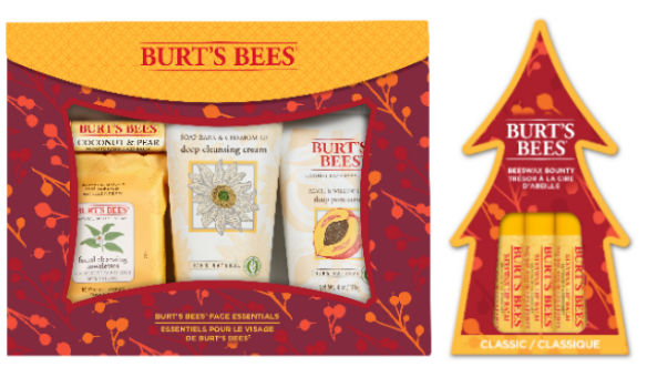 Burts Bees Face Essentials Skincare