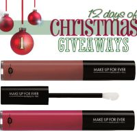 Day 1~ 12 days of Christmas Giveaways! Make Up For Ever