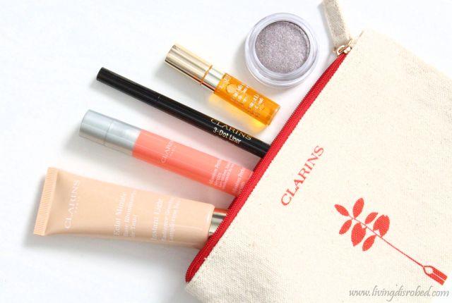 clarins makeup giveaway