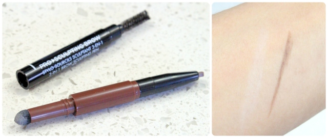 make-up-for-ever-pro-sculpting-brow-3-in-1-pen-30-review-swatch