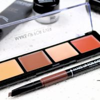 REVIEW | Make Up For Ever Pro Sculpting Face Palette and 3 in 1 Brow pen