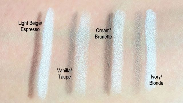 nyx-brow-contour-sculpt-highlight-review-swatches