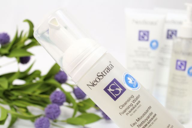 NeoStrata foaming-cleansing water review