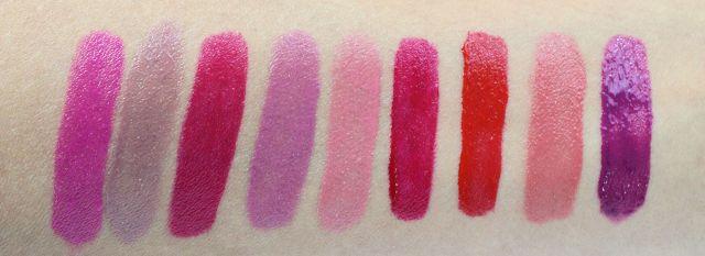 Elizabeth Arden Bold Liquid Lipstick swatches
