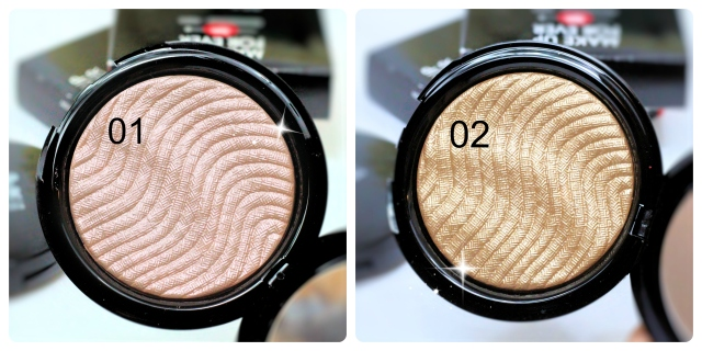 Make Up For Ever Pro Light Fusion Review Swatch Highlighter