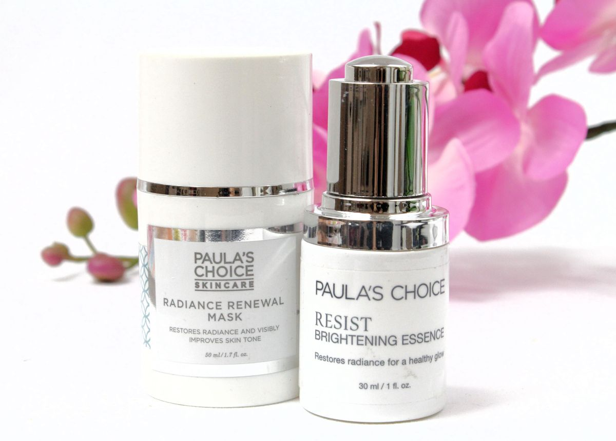 Paula's Choice Radiance Renewal Mask and Brightening Essence Review