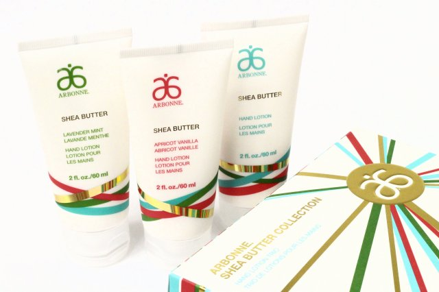 arbonne-shea-butter-collection