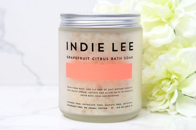 Indie Lee Grapefruit Bath Soak Review